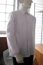 PERMAFLOTT Herren Hemden DDR Shirt TRUE VINTAGE GDR Gr. 42 N rosé Streifen