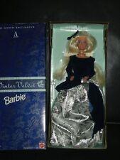 Winter Velvet Barbie MIB pretty snowstorm doll