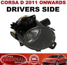 CORSA D FACELIFT FRONT FOG LIGHT SPOT LAMP DRIVERS OFF SIDE SXI SRI CDTI