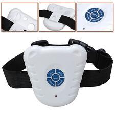 Ultrasonic Safe Anti Bark Stop dog collars & leashes Barking Control Chic Collar
