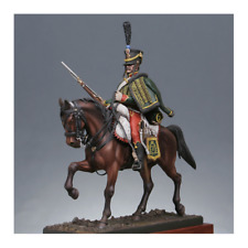 "METAL MODELES 54mm metal kit ""Hussard of the 7th Regiment 1809"" NO BOX! No Base!"