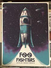 Foo Fighters 7/14/18 #87/350 Jones beach wantagh poster