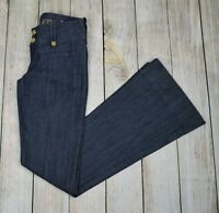 Divine Rights of Denim Women's Low Rise Flare Bootcut Jeans Pants  Blue Size 27