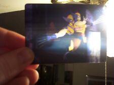1996 MARVEL MOTION 3D LENTICULAR VIRTUAL VISION 4 INSERT CARD SET! SPIDERMAN!