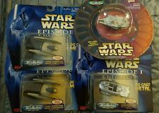 Vintage Star Wars Galoob Micro Machines Die Cast Vehicle Lot Millenium Falcon