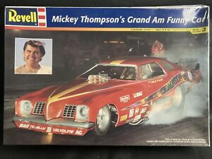 Revell 1/16 Scale Mickey Thompson's Grand Am Funny Car Model Kit 85-7684 Sealed