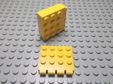 Lego 4 gelb Scharniere Autodach 4x4  4213  Set 6361 6674 6693 6697