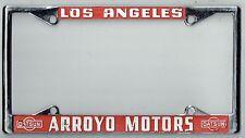 RARE Los Angeles California Arroyo Datsun NOS Vintage Dealer License Plate Frame