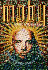Moby Poster 2000 Hybrid The Warfield BGP 245 Wiedemann Original Promo Poster