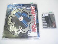 BRAKING KIT DISCO FRENO POSTERIORE + PASTIGLIE YAMAHA TMAX T MAX T-MAX 500 2001