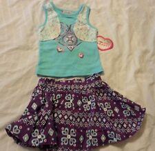 Girls Skirt Skort Outfit Sz 18 Months Infants Baby Kids Young Heart