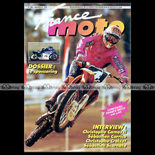 FRANCE MOTO N°286 ★ YVES DEMARIA ★ TROPHEE SUPERCROSS ★ GRASS-TRACK 1994 ★