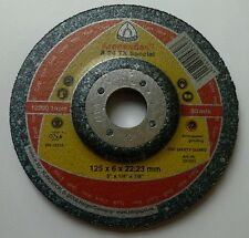 Grinding Disc - 125mm x 6mm x 22.23mm - for Cast Iron