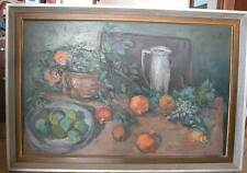 OIL ON CANVAS - FRUITS - SIGNED -UNIDENTIFIED ARTIST (AR # 71)