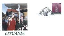 Lithuania 1993 Jan Pawel II papież John Paul Pope Papa Papst Giovani Paolo .93/2