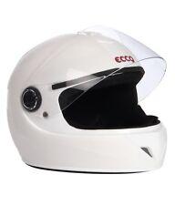 Format Ecco Full Face Light Weight Helmet - White Matt ISI marked