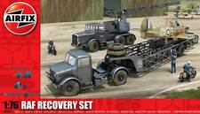 Airfix RAF Recovery Set Airfield Airport Mobile crane Coles MK7 Low loader 1:76