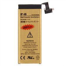 Bateria interna para IPHONE 4S alta capacidad 2680 mAh Gold