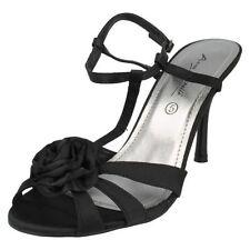 Anne Michelle Strappy Textile Evening Women's Sandals & Beach Shoes