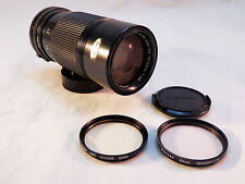 Canon FD 70-150mm f/4.5 Manual Focus Lens+Filters ~ Very Very Nice!!
