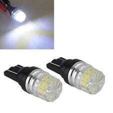 2Pcs SUV Car Interior Dome Lamp Reading Bulb White 27mm LED License Plate Lights