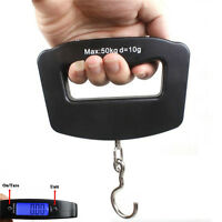 Portable Digital LED Luggage Scale Travel 50 KG Capacity - Holiday Electronic