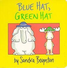 Blue Hat, Green Hat: By Boynton, Sandra