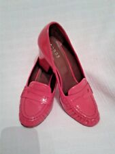 Lady's Hobbs Shoes Red Patent Size 37