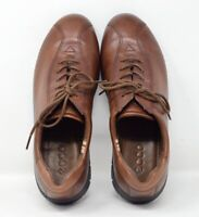ECCO Women's 39 / US 8-8.5 Brown Lace Up Leather Oxford shoes