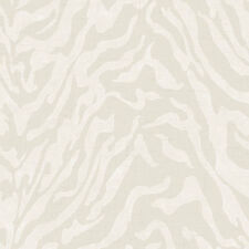 Contemporary Linen and Tan Wallpaper-Double roll