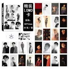 30pcs /set Super cute Kpop EXO For Life Personal Photocard Poster Lomo Cards