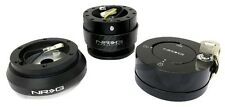 NRG SRK-130H STEERING WHEEL HUB & GEN2.0 QUICK RELEASE CARBON w/ LOCK COMBO KIT