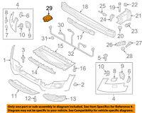 AUDI OEM 13-16 Q5 Front Bumper Grille Grill-Garage Door Opener 4G0907410A