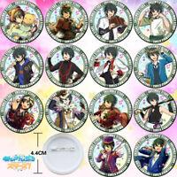 14PCS Anime Ensemble Stars Mika Valkyrie Badge Itabag Pin Button Holiday Gift