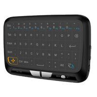 2.4G mini souris sans fil air clavier avec pavé tactile pour PC, Android TV