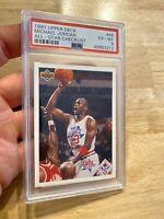 Michael Jordan PSA 6 Collector Card 1991 Upper Deck #48 Chicago Bulls INVESTMENT
