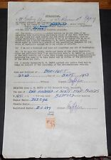 BEDFORD VEHICLE  WITH 2D STAMP DUTY PAPERWORK