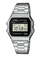 NEU Casio Silber Unisex Armbanduhr CASIO Collection A158WEA-1EF_DE