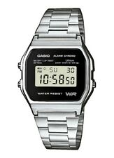 Nuevo plata CASIO unisex reloj de pulsera Casio Collection a158wea-1ef