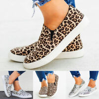 Women Slip On Breathable Trainers Sneakers Ladies Sport Running Pumps Shoes Size