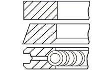 GOETZE ENGINE Jeu de segments pistons 08-990105-00 pour Audi VW Seat Skoda 80