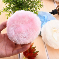 Professional Bowknot Baby Villus Powder Puff Sponge For Talcum Powder Makeup