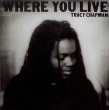 Tracy Chapman: Where You Live - CD 2005  PopRock, Singer-Songwriter, FolkRock