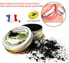 100% Naturel Bambou Charbon Actif Poudre Dentifrice Blanchiment des Dents VEGAN