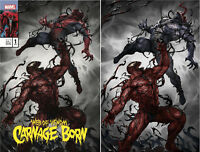 Web Of Venom Carnage Born 1 Skan Virgin Set Variant Amazing Spider-Man 361
