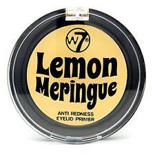 W7 Lemon Meringue Aid Anti Redness Eyelid Primer, Eye Shadow Base, 2g