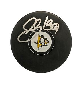 SIDNEY CROSBY AUTOGRAPHED Hand SIGNED Pittsburgh PENGUINS HOCKEY PUCK w/COA