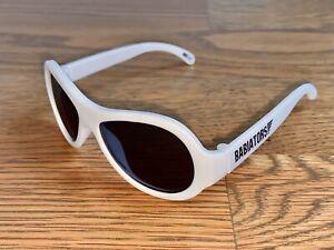White Babiators Aviators sunglasses Baby 0 1 2 3 Year Boy Girl Toddler Sun Shade