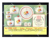 Historic Harker Pottery 1930s Advertising Postcard