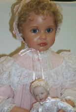 "Ann Timmerman 24"" Doll ""Ann Marie"" Resin Le 17/50 Beautiful + baby doll - Rare"
